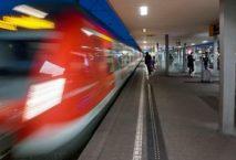 Bahnsteigkante in Cannstatt. Foto: DB
