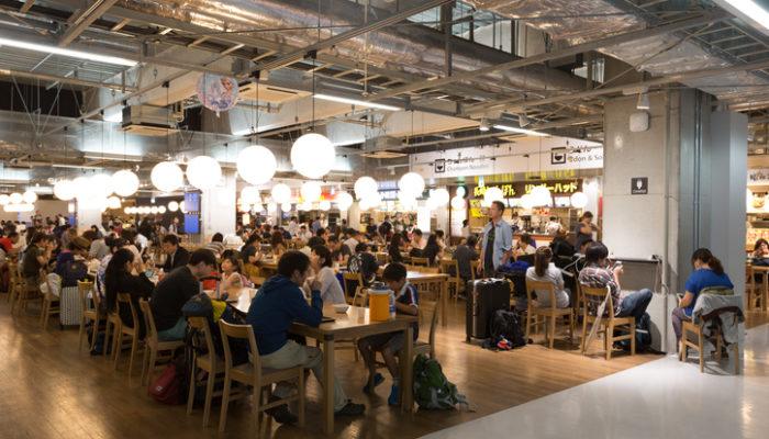 Food court in Narita International Airport, Terminal 3. Foto: iStock
