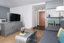 Neues Superior Plus Apartment im Derag Livinghotel Nürnberg. Foto: Christian Behnke