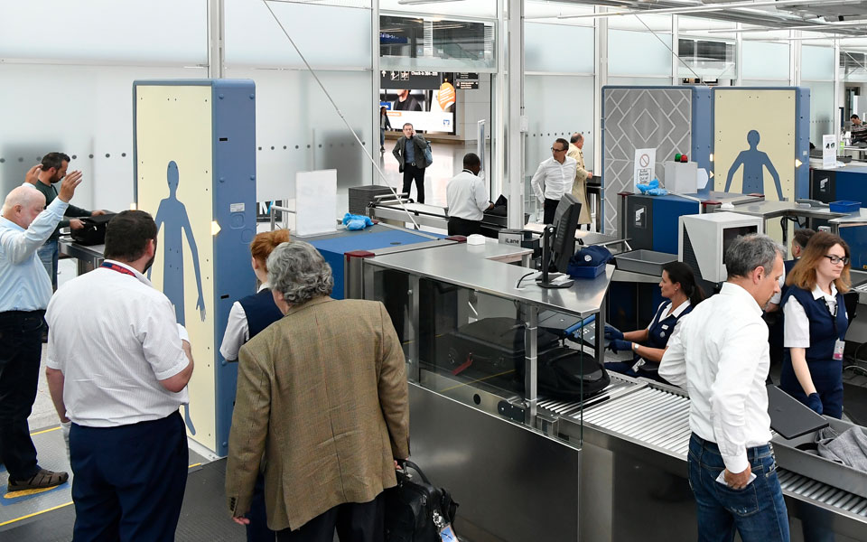 Passagierkontrolle Terminal 2