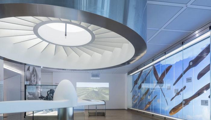 Das neue Museum am Flughafen München. Foto: Flughafen München