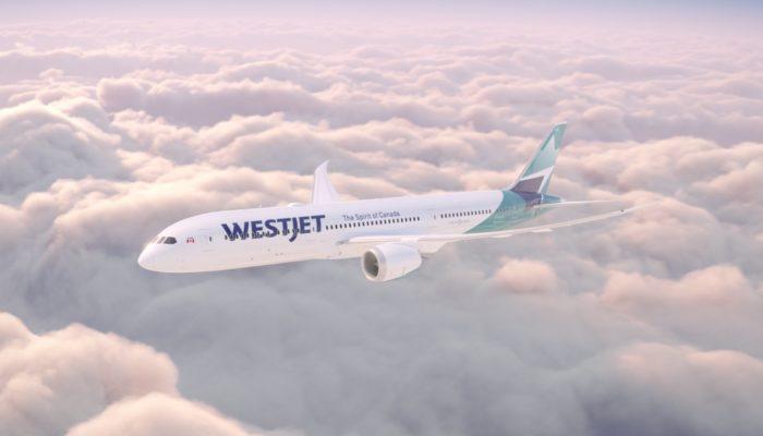 Westjet in neuem Look. Foto: Westjet