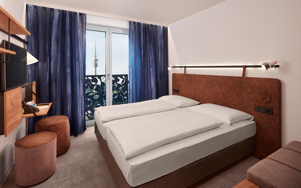 Doppelzimmer im H2 Hotel München Olympiapark