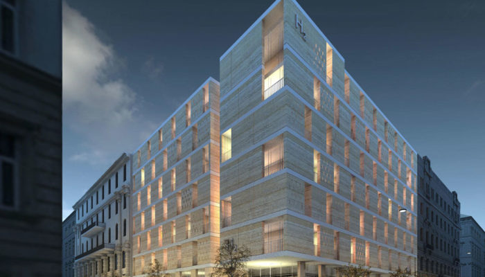 Rendering H2 Hotel Budapest