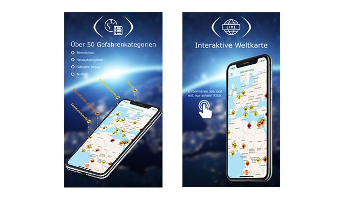 Global Monitoring-App von A3M
