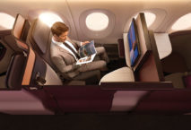 Illustration QSuite Qatar Airways