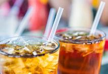 Strohhalme im Drink