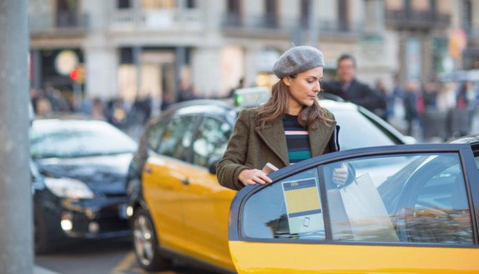 Taxifahrer in Spanien streiken. Foto: iStock
