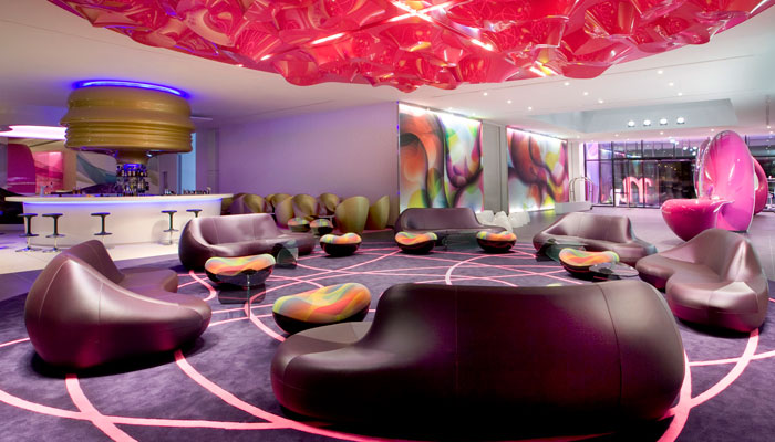 Lobby nhow Berlin-Friedrichshain