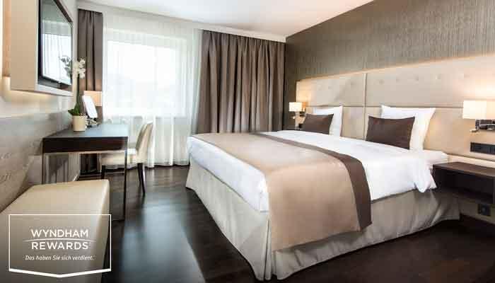 Hotelzimmer Wyndham Salzburg