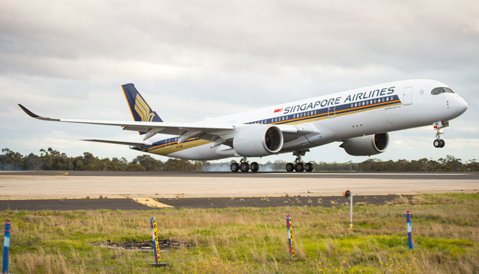 A350-900 Singapore Airlines