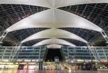 Das beleuchtet Forum am Flughafen München