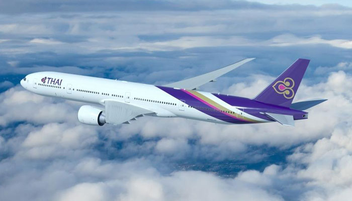 Boeing 777-300ER der Thai Airways