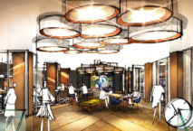 Erste Einblicke: Andaz Hotel München Schwabinger Tor: Illustration: PR/concrete architectural associates