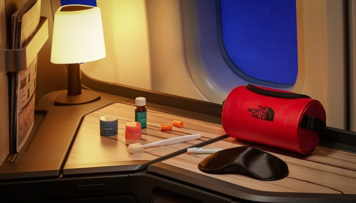 Amenity Kit China Airlines The North Face; Foto: China Airlines