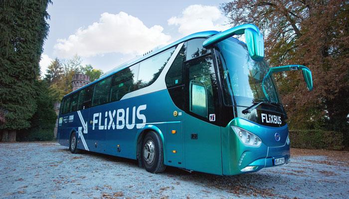 E-Bus von Flixbus