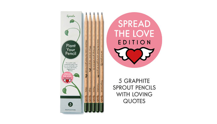 """Spread The Love Edition"" von Sprout. Foto: Sprout"