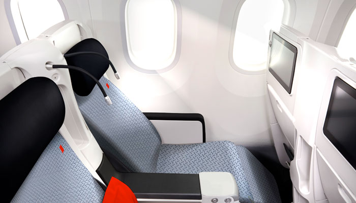 neue Premium Economy in der A330 bei Air France