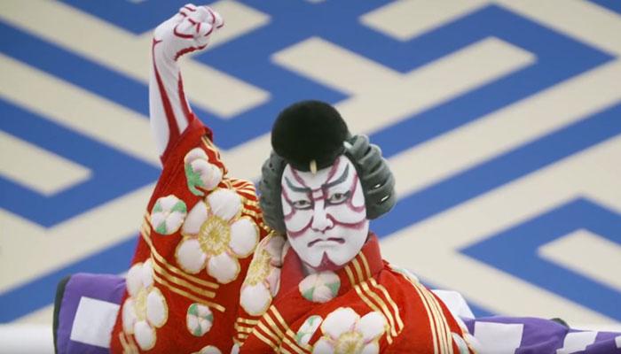 Kabuki-Schauspieler. Bild: ANA/Youtube.com
