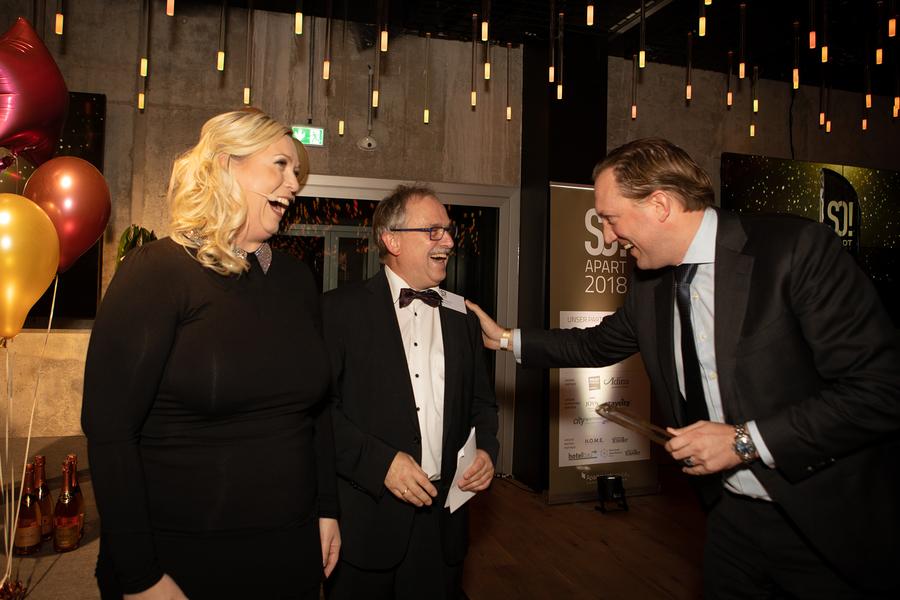 Anett Gregorius, Uwe Niemann, Peter Heule Yays; Foto: © Julia Baumgart, Apartmentservice