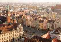 Breslau Altstadt von oben; Foto: iStock.com/spooh