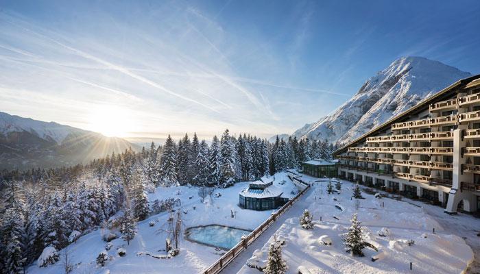 Foto: Interalpen-Hotel Tyrol im Schnee