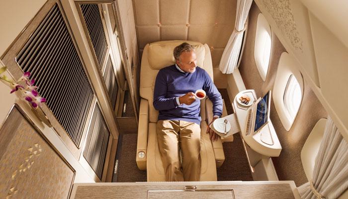 Suite Emirates; Foto: Emirates