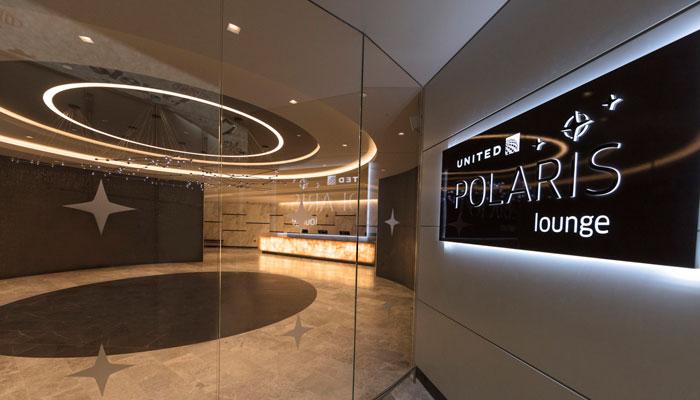 United Polaris Lounge; Foto: United
