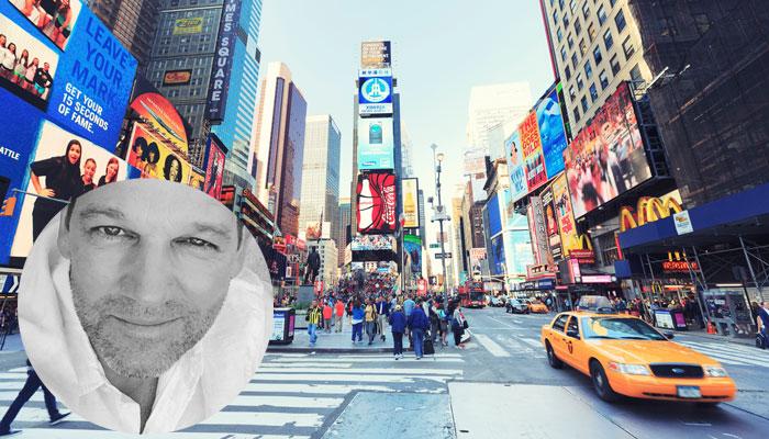 New York, Porträt Kai Böcking; Foto: iStock.com/Pawel-Gaul; privat
