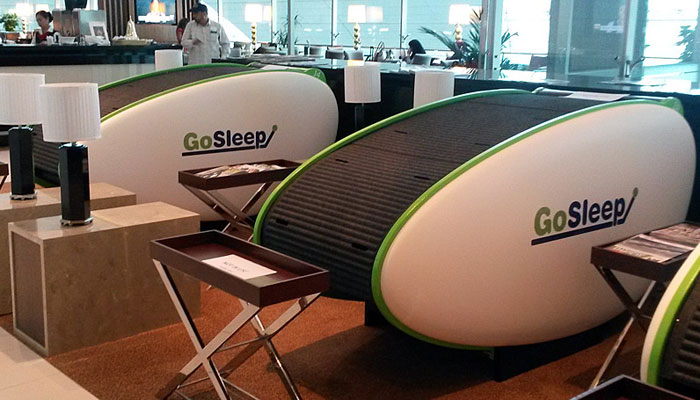 Go Sleep Pod; Foto: Go Sleep