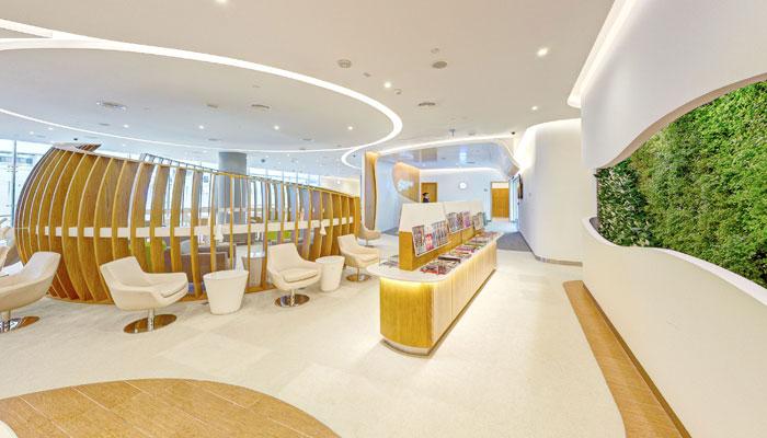 die SkyTeam Lounge in Dubai. Foto: SkyTeam