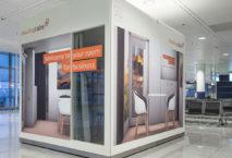 """MeetingCab"""" am Münchner Flughafen. Foto: Flughafen München GmbH, Unternehmens-kommunikation"""