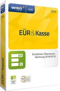 Packshot WISO EÜR & Kasse 2019