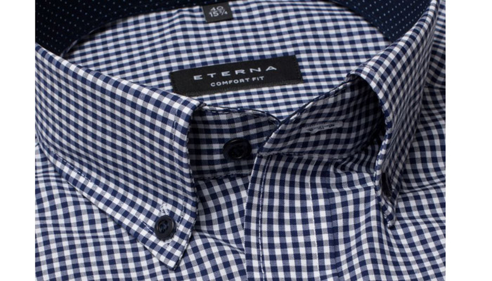 Kragenform Button Down; Foto: Eterna