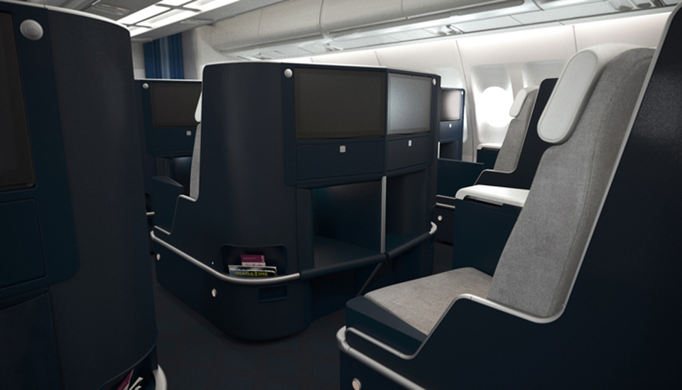 Business Class A330 Air France; Foto: Air France