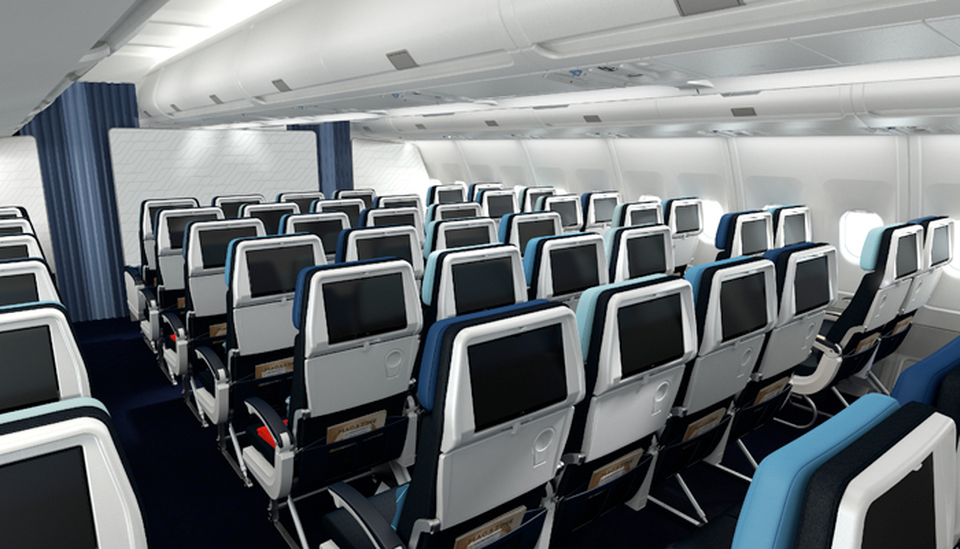 Economy Class A330 Air France; Foto: Air France