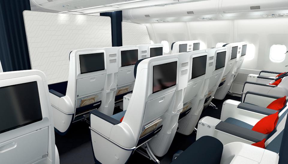 Premium Economy A330 Air France; Foto: Air France