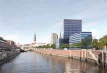 Beste Lage: Das Premier Inn Hamburg City steht auf dem ehemaligen Spiegel-Gelände. Foto: © Winking+Froh Architekten GmbH
