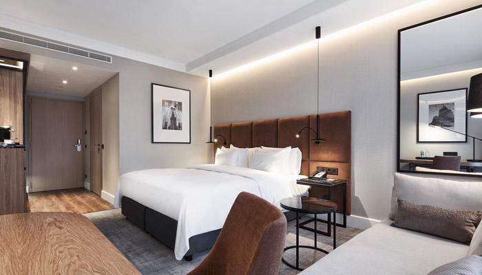 Zimmer im neuen Radisson Collection Hotel Warschau. Foto: Radisson Hotel Group