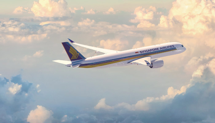 A350 der Singapore Airlines