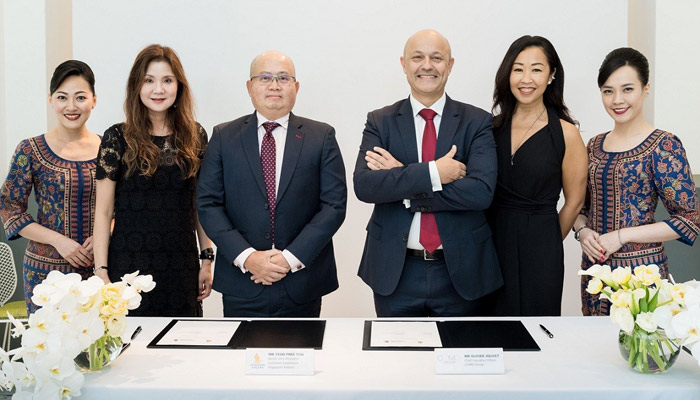 Neue Kooperation: Singapore Airlines und COMO Shambhala. Foto: PR