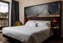 Zimmer im NYX Hotel Bilbao. Foto: Leonardo Hotels/© Marc Sanchez