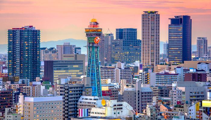 Skyline Osaka; oto: iStock.com/Sean Pavone