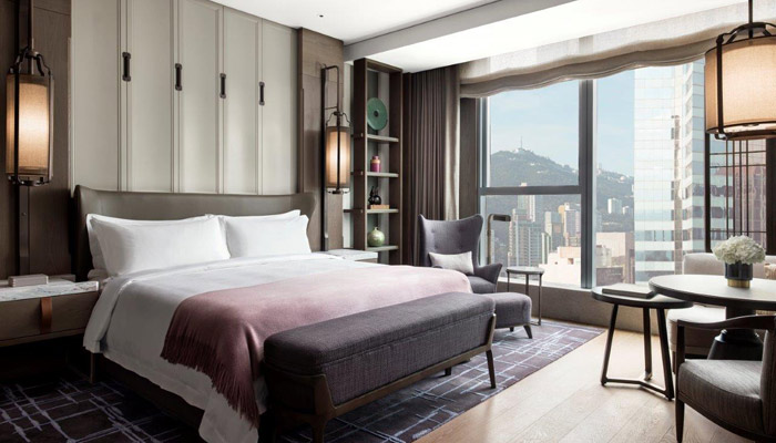 Zimmer im The St. Regis Hong Kong. Foto: Marriott International
