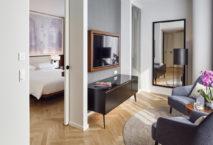 Suite im Andaz Vienna Am Belvedere. Foto: Andaz