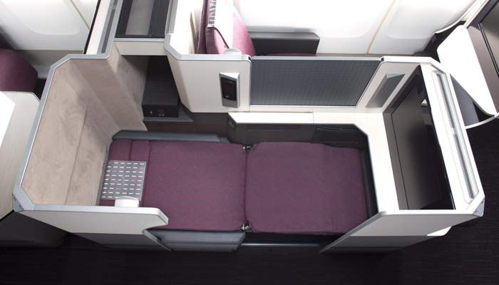 B/E Aerospace Apex Suite; Foto: Japan Airlines