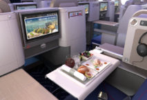 Die Business Class der Brussels Airlines in der A330-300. Foto: PR