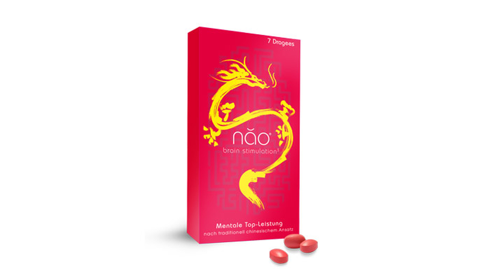 "Superfood-Dragees ""Nao Brain Stimulation"""