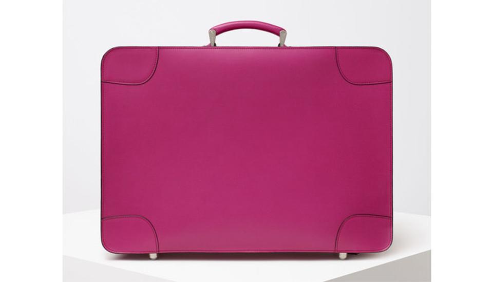 Koffer von Valextra; Foto: PR