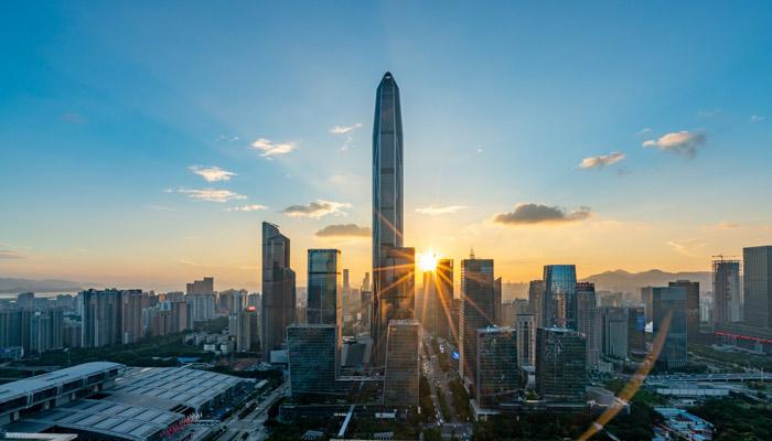 Skyline Shenzhen; Foto iStock.com/luxizeng